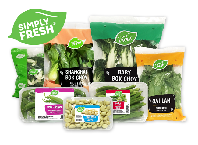 Simply Fresh product line